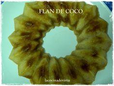 La cocina de Virtu: FLAN DE COCO
