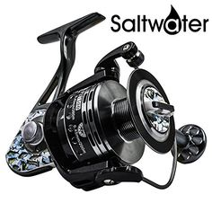 Fishing Reels Saltwater Spinning Reel for Inshore Beach Surf Long Casting Fishing Offshore Trout Boat Kayak Jigging Fishing and Freshwater Bottom Bass Fishing Rod and Reel Combo Saltwater Reel 2000 Bass Fishing Rods, Best Fishing Kayak, Fishing Rods And Reels, Rod And Reel, Trout Fishing, Surf Fishing, Fishing Stuff, Saltwater Reels, Saltwater Fishing