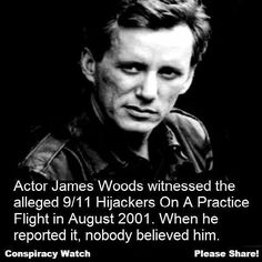 James woods 9/11 conspiracy