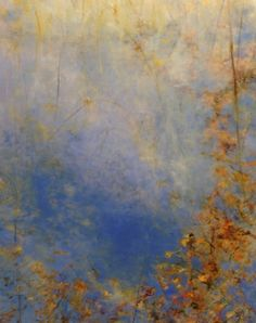 Pond On the Edge II, oil on canvas, 60