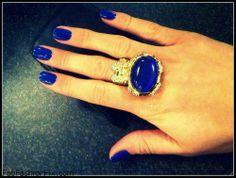 Navy blue nails inspiration