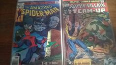 The AMAZING SPIDER-MAN, #181, King Size Annual #10, Human Fly, Pain and the Power, Vintage, Good! by LightsOutBookshoppe on Etsy