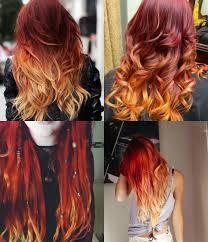 Fire Ombre Hair, Fire Hair, Ombré Hair, Dye My Hair, Hair Color Dark, Ombre Hair Color, Haircut And Color, Coloured Hair, Grunge Hair