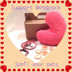 Visit www.stylishpaws.co.za and Order a Valentines pack for your furry love <3