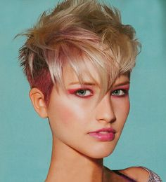 Great pixie, great color