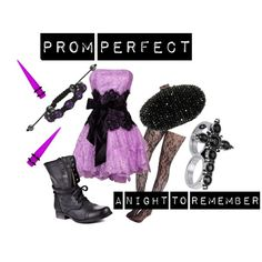 Prom Perfect, created by lyndzifersherrr on Polyvore