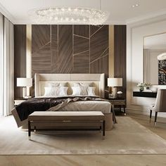 Contemporary Bedroom, Modern Room, Luxury Homes Interior, Interior Design, Interior Concept, Master Bedroom Design, Cheap Home Decor, Furniture Design, Bedroom Decor