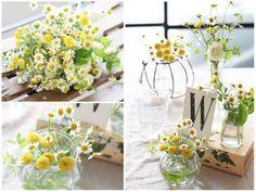 小瓶の花瓶 piggyのおしゃれ結婚式準備ブログ☆