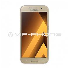 Samsung A320F Galaxy A3 (2017) arany gyártói garanciás kártyafüggetlen mobiltelefon