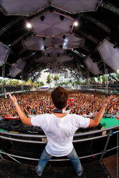 Sander van Doorn, Yeah! Ultra Music Festival 2012.