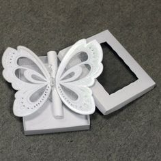 Gorgeous Butterfly Wedding Invitations