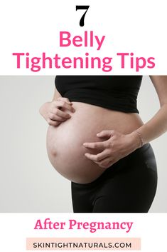 How To Tighten Your Stomach - 7 Belly Tightening Tips After Pregnancy. Start flattening your stomach faster than ever with these tips! Weight Loss For Women, Fast Weight Loss, Weight Loss Tips, Losing Weight, Loose Belly, Lose Belly Fat, Skin Tightening Cream, Tighten Loose Skin, Celebrity Workout