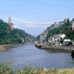 The Clifton Suspension Bridge is a suspension bridge, which opened in 1864, spanning the Avon Gorge and the River Avon, linking Clifton in Bristol to Leigh Woods in North Somerset, England. Designed by Isambard Kingdom Brunel,