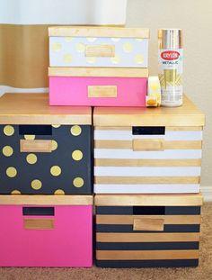 24 Stylish IKEA Hacks for Your Dorm Room via Brit + Co