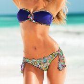 Hermoso bikini estampado  Tallas CH, M y G $500 MXN #mabelletrendy #summer #sexybikini #bluebikini