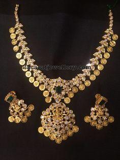 Kasu Pachi Necklace - Jewellery Designs