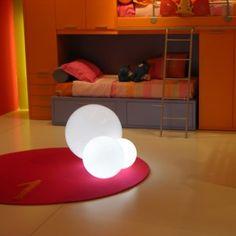Slide Globo In Floor Lamp
