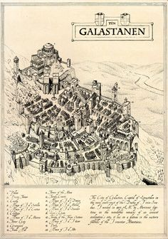The City of Galastan 3464 × 4943