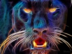 .Electric Fractal Animals