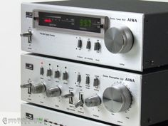 Aiwa 22 : mini hi-fi system vintage vinyl stereo late 70's early 80's