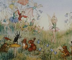 Flower Ballet. Molly Brett (English, 1902-1990). Brett was an illustrator and children's author, best known for her anthropomorphic artwork. Brett grew up in Surrey, surrounded by animals and nature. Her mother, Mary Gould Brett, was a respected...