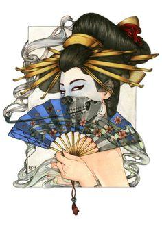 pour ton retour geisha