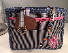 Taschenorganizer Jeans, smal von Kleine Wollbude auf DaWanda.com