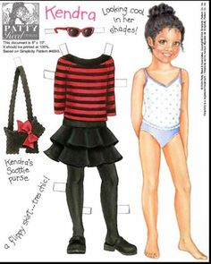 Amy,Kayla,Keesha,Kendra,Mae,Nan,Patty,Samantha Paper Dolls.This From Pitaove2 - Yakira Chandrani - Álbuns Web Picasa
