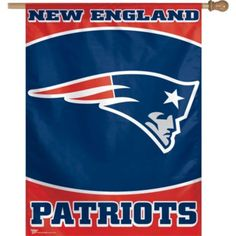 Jack's room: New England Patriots 27in x 37in Vertical Flag - NFL Teams - Sports Theme Party - Theme Parties - Categories - Party City