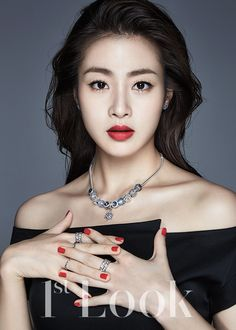 Kang Sora Is a Holiday Party Queen for 1st Look