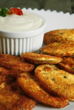 Tomates vertes frites #recettesduqc #legume