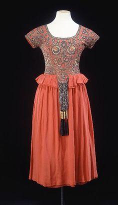omgthatdress: Tolède Paul Poiret, 1921-1922 Musée Galleira de la Mode de la Ville de Paris