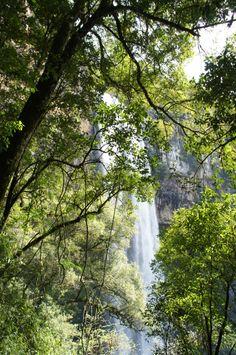 Cascata do Caracol em Canela, Rio Grande do Sul.