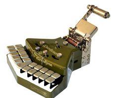 Stenotype Grandjean - Typewriter House Collector