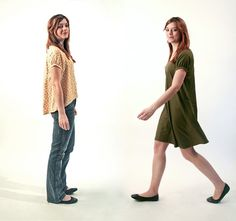 Róza Blouse & Dress Sewing Pattern from Kate & Rose