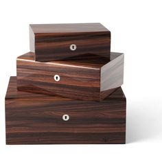 Limited Production Design: Ralph Lauren Italian Rosewood Jewelry Box * 14/10/5 inches * Small Sizes Available
