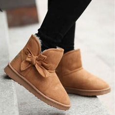 I want a pair of bow boots.