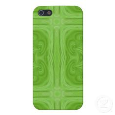 Green stylish wood pattern iPhone 5 cover