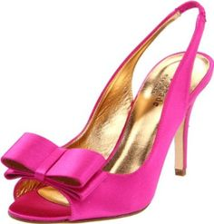 Kate Spade New York Women's Celeste Slingback Pump High Heels Stilettos, Stiletto Heels, Pumps, Cheap Kate Spade, Fuschia Shoes, Exclusive Shoes, Peep Toe Shoes, Slingback Pump, Occasion Wear