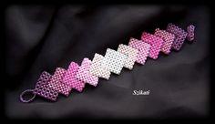 Pink shades - RAW bracelet