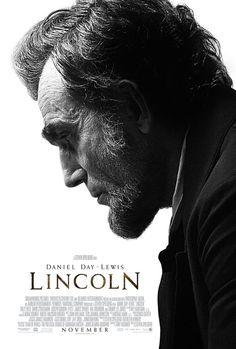 """Poster oficial de la película """"Lincoln"""" con Daniel Day - Lewis"""