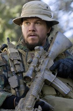 """mark wahlberg - """"Marcus Luttrell"""" in Lone Survivor Lone Survivor Movie, Survivor 2013, Action Movie Stars, Action Movies, Gi Joe, Marcus Luttrell, Actor Mark Wahlberg, Z Cam, Best Selling Books"""