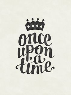 once upon a time - monthly photo diary