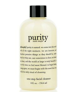 PURITY MADE SIMPLE ONE-STEP FACIAL CLEANSER