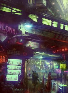 Cyberpunk artworks gallery - Page 51