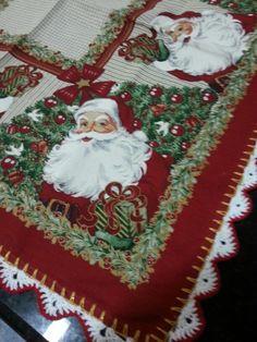 Toalha de natal