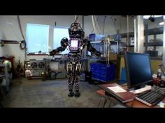 No, it's not a souped-up version of Robby the Robot — it's ATLAS, DARPA's latest attempt at creating a humanoid robot. Unlike the super-realistic Petman, which was designed to test chemical protection clothing, this 330-pound monster is meant to assist in emergency situations. Riiiight...