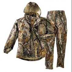 The Classic Frogg Toggs Pro Action Suit is waterproof, windproof, breathable and most of all, affordable. Frogg Toggs products are constructed with a patented process of three layers of polyproylene material with a center layer of microporous film. Army Shop, Camo Outfits, Hunting Clothes, Mossy Oak, Rain Jacket, Raincoat, Suits, Action, Jackets