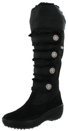 Pajar Maureen Women's Faux Fur Insulated Tall Snow Boots