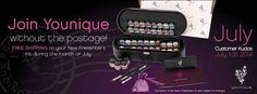 If it wasn't a bargain enough ~ Now YOU can get FREE Shipping through July ~ what are you waiting for. . honestly ~ THIS IS A GREAT OPPORTUNITY!!  JULY 1 - 31  https://www.youniqueproducts.com/SusanHamilton/products#.U7C3ybG8Tg0